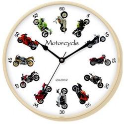 Reloj de pared motos
