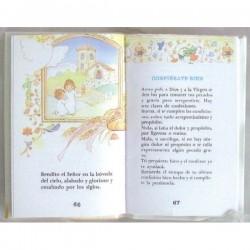 Misalito librito de mano comunión nacar