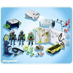 Playmobil 4880 Laboratorio de Gánsters con Linterna