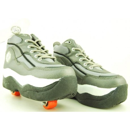 Zapatillas con ruedas nº 38 Gris