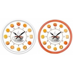 Reloj de pared redondo galletitas