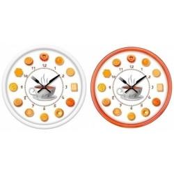 Reloj de pared redondo galletitas