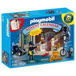 Playmobil 4168 Calendario de Navidad 'Policía y ladrón'