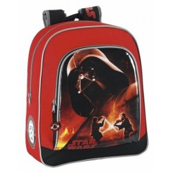 Mochila Star Wars Darth Vader 32cm adaptable a carro