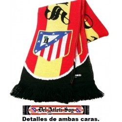 Bufanda Atlético de Madrid Siempre Fieles