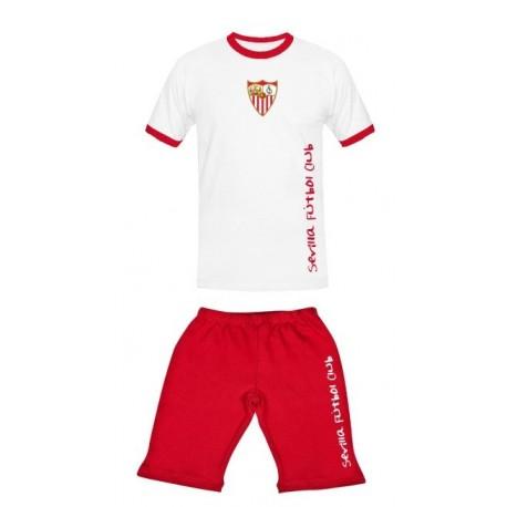 Pijama verano Sevilla Fútbol Club niño-junior