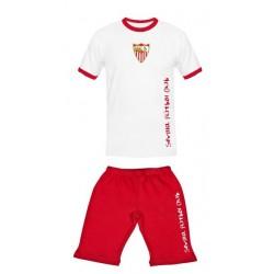 Pijama verano Sevilla Fútbol Club adulto
