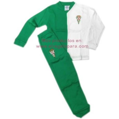 Pijama del Córdoba Club de Fútbol niño invierno