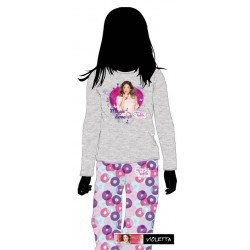 Pijama invierno de Violetta