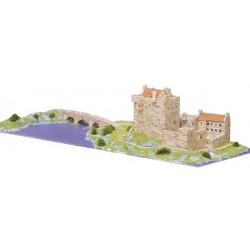Maqueta Eilean Donan Castle - Escocia - Aedes Ars 1011