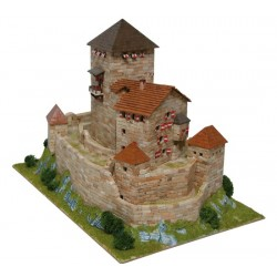 Maqueta Burg Branzoll - Italia - Aedes Ars 1054
