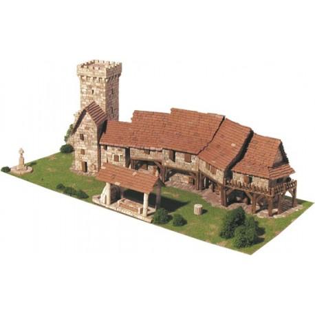 Maqueta diorama Aldea rural - Aedes Ars 1457