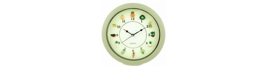 Relojes, relojes de pared, relojes de cocina, relojes de sobre mesa, relojes decoración