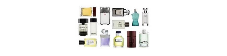 Fragancias, perfumes y colonias para hombre.