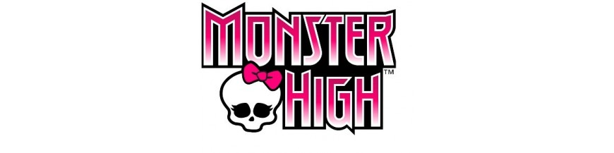 Regalos y productos de las Monster High.