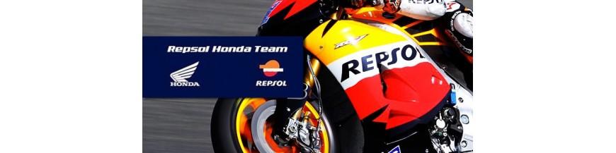 Productos oficiales de Repsol Honda Moto GP.