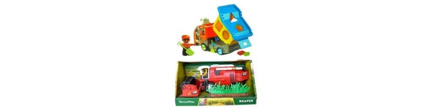 Comprar coches motos aviones tractores cosechadoras de juguete para niños - Tienda juguetes