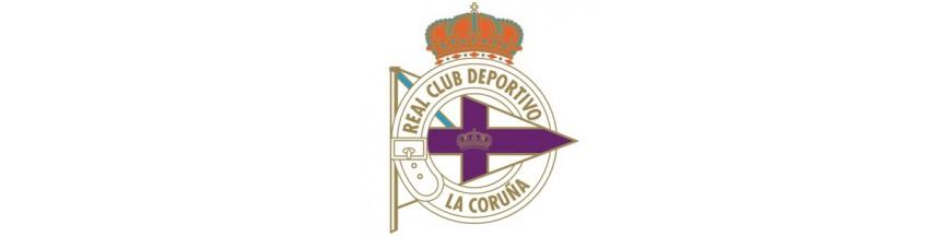 Tienda productos oficiales del Real Club Deportivo de La Coruña.