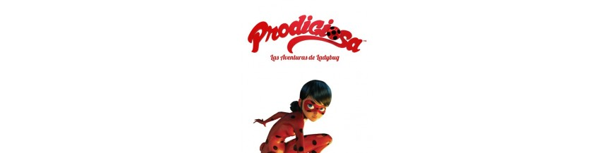 Tienda de productos oficiales de la serie de televisión dibujos animados Prodigiosa Ladybug