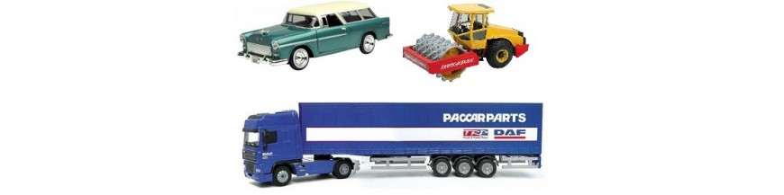 Vehículos a escala. Maquetas de vehículos a escala.